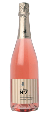 Domaine J. Laurens, Crémant de Limoux rosé, La Rose n° 7, 2009